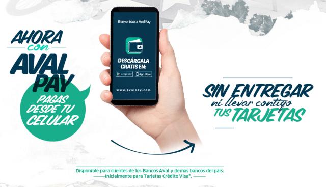 AVAL Pay pagar con tu celular en lugar de usar tarjetas