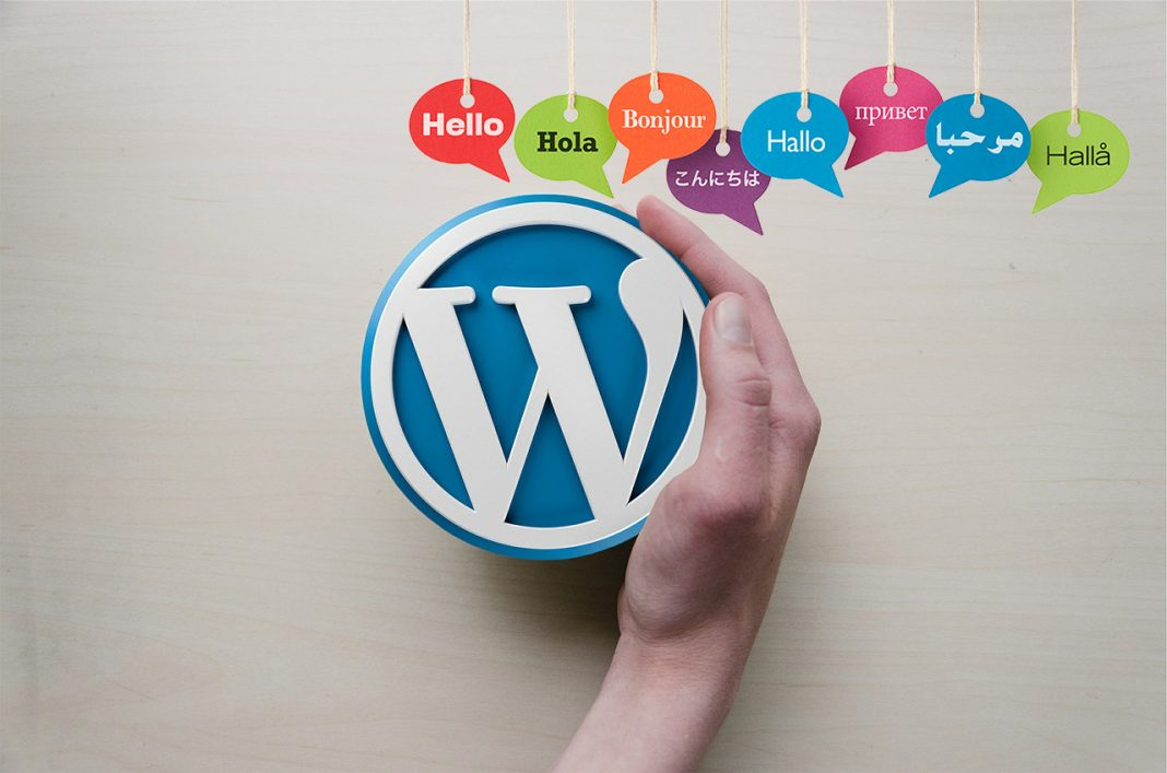 wordpress in different languages