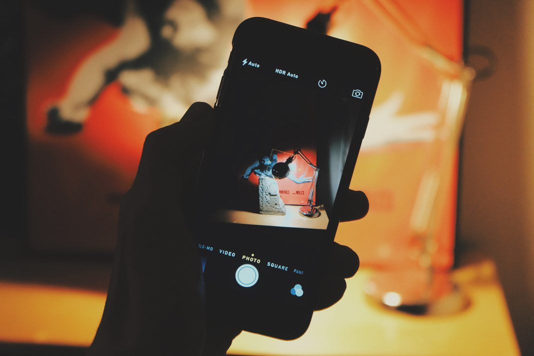 fotografia tomada con iphone