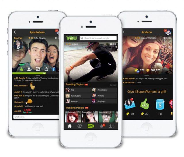 Redes sociales que permiten transmisión en vivo de videos