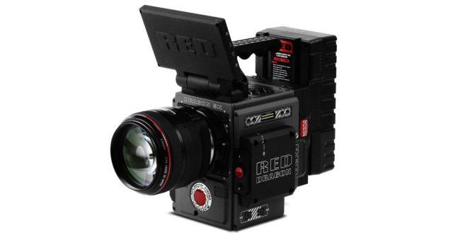 cámara de alta gama RED - Scarlet W