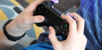 gamer video juego consola