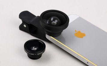 Iphone accesorio cámara