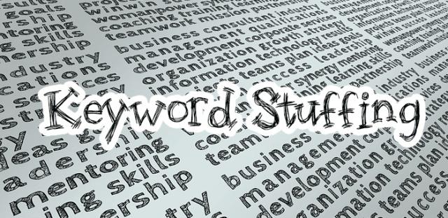 exceso de palabras clave