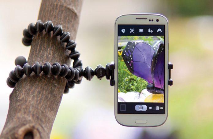 Trípodes para smartphones