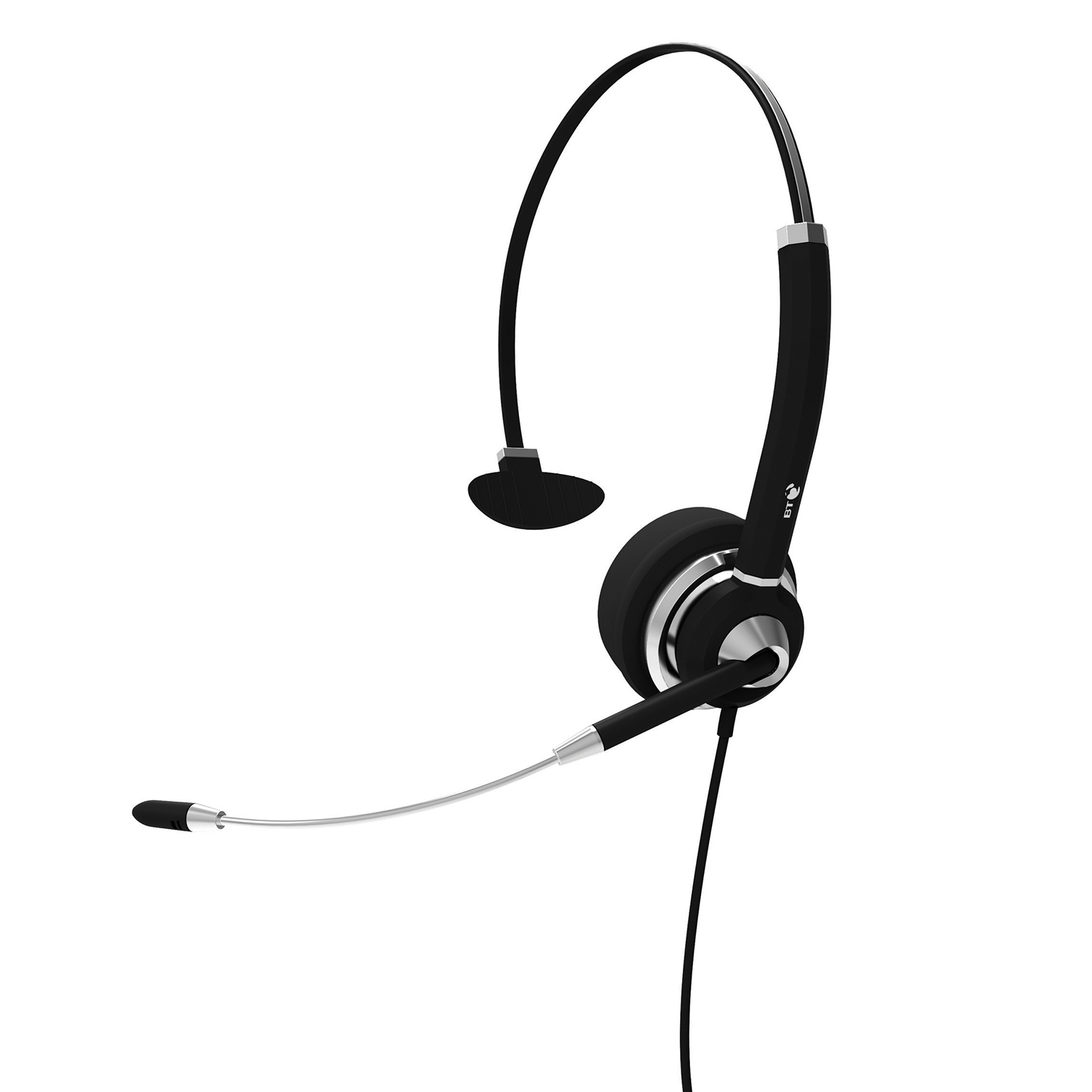 Corded Headsets: BT H31 Monaural Noise Cancelling Headset