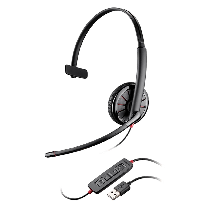 USB Headsets: Plantronics Blackwire C315 UC USB Headset