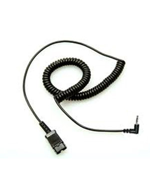 Plantronics 2.5mm-to-QD Coiled Cord for Cisco 508 921 922