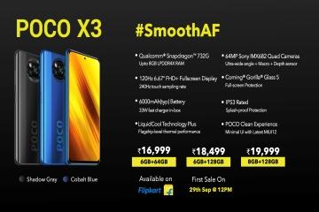 poco x3 price and spec