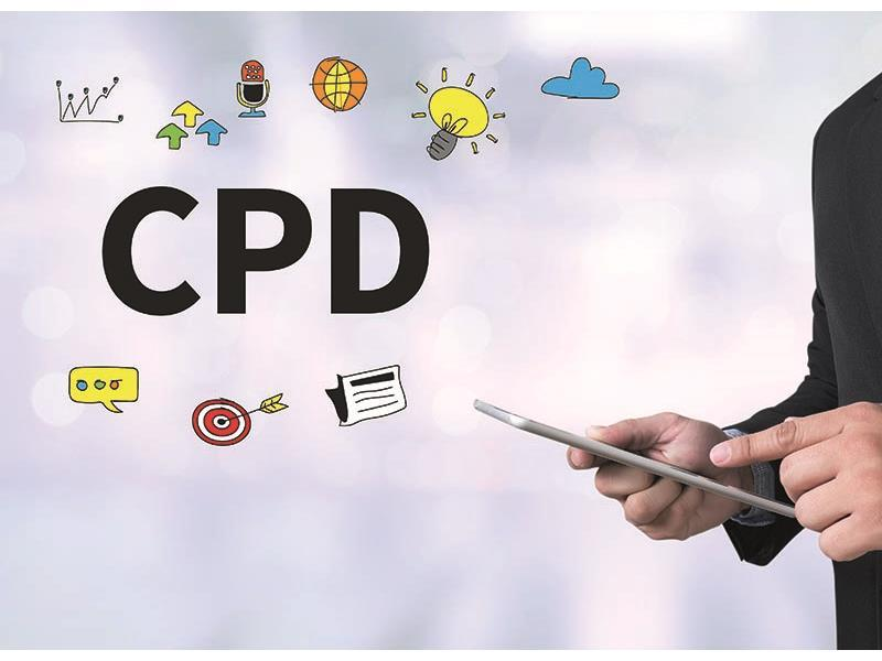 Planning your CPD for next year