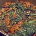 Spicy Chana & Lentil with Kale
