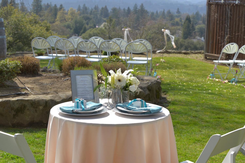 wedding receptions healdsburg golf club