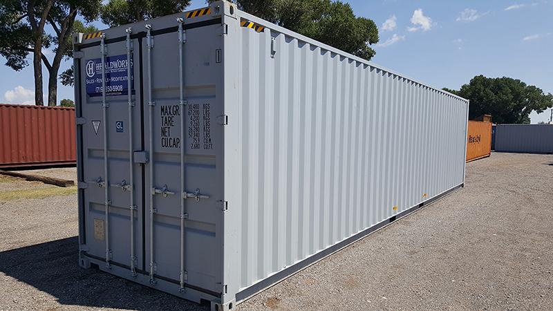 40ft DD HC Container | Healdworks. Inc