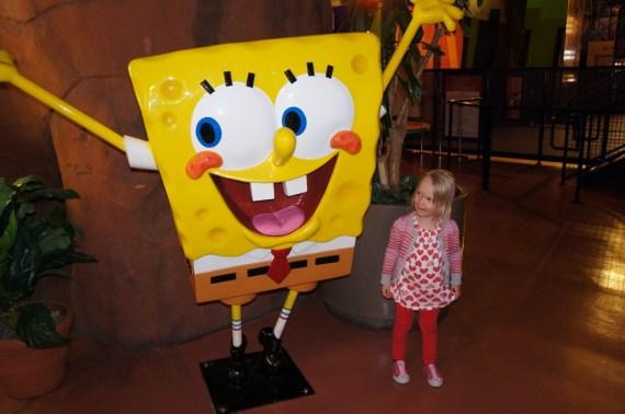 Bianca ja Spongebob