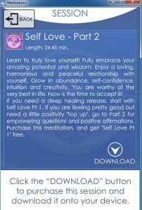 Self Love Pt II app image
