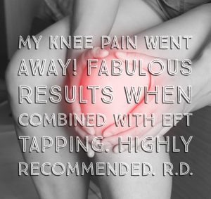 Knee pain relief RD