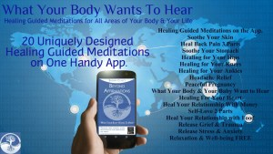 image of the What your body wants to hear mobile app
