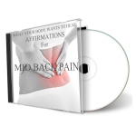 What Your Body Wants To Hear Healing for Your Mid Back cd cover
