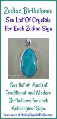 Zodiac Birthstones For All Twelve Astrology Signs on ...