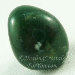 Moss Agate Creates Grounded Balance In Your Life