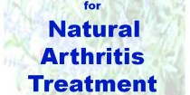 natural arthritis treatment