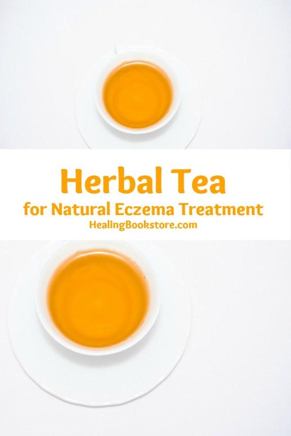 herbal tea for natural eczema treatment
