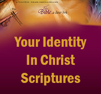 Your Identity in Christ Scriptures