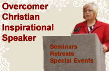 overcomer christian inspirational speaker