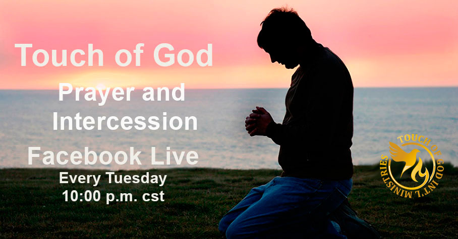 Prayer and Intercession Facebook Live