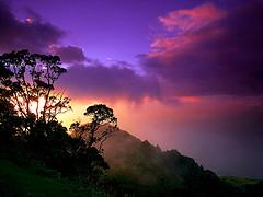 Lush Mountains on Kauai, Hawaii