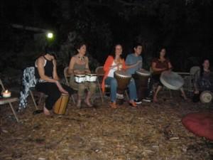 Miami drum circle