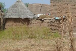 village outside of Ouagadougou