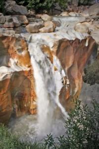 Water on Rock