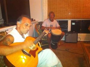 Francesco Playing Guitar