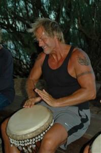The Healing Drummer Drumming