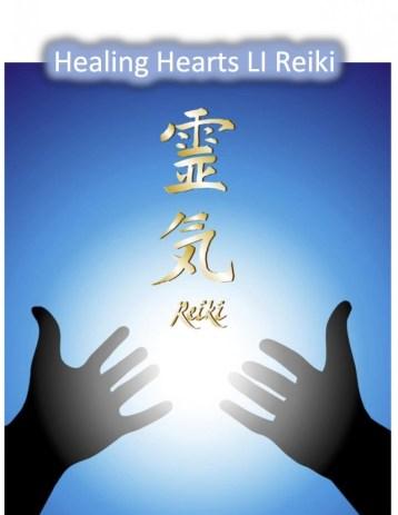 Healing Hearts Li Reiki Shoden Level I