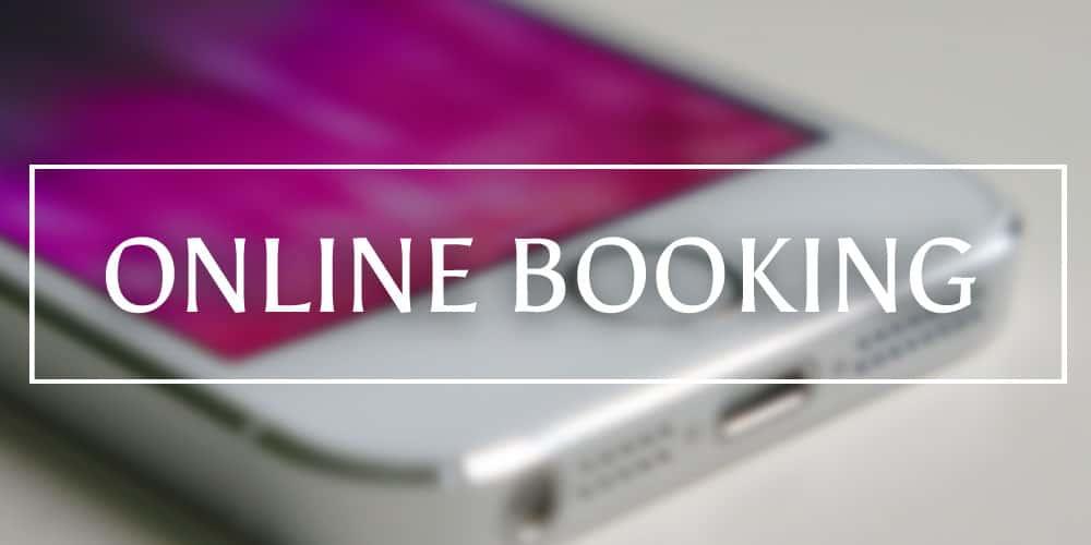 Healing Light Online Booking