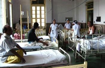 Ramakrishna Mission Seva Pratishthan hospital ward