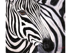 Zephyr - The Zebra by Karen T Hluchan
