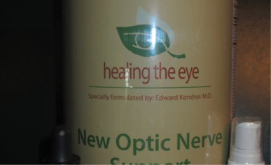 Kondrot Glaucoma Treatment