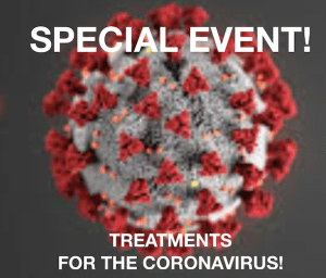Special Event: Treating the coronavirus with ozone