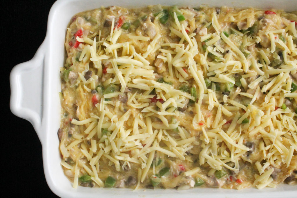 pioneer woman's chicken spaghetti - lightened up - healing whole nutrition