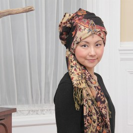 Winter Bald Hair Turban Wrap Chemotherapy Hair loss