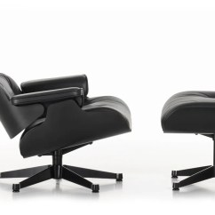 Lounge Chair Dimensions Upholstery Fabrics For Chairs Vitra Eames And Ottoman Nero Leather Premium