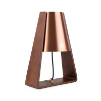 Heal's Bend Table Lamp Copper | HEALS