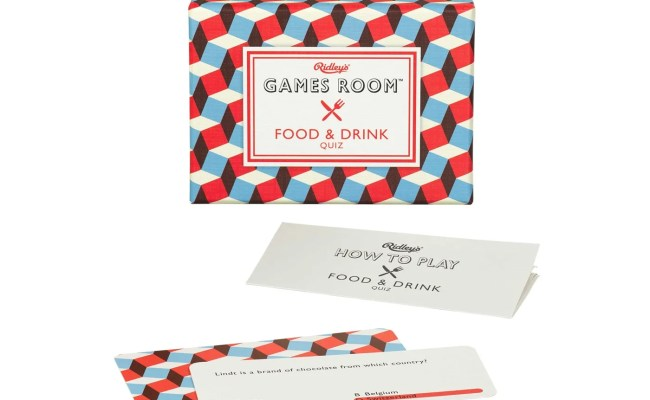 Ridley S Games Room Ridley S Food And Drink Quiz Game Heal S