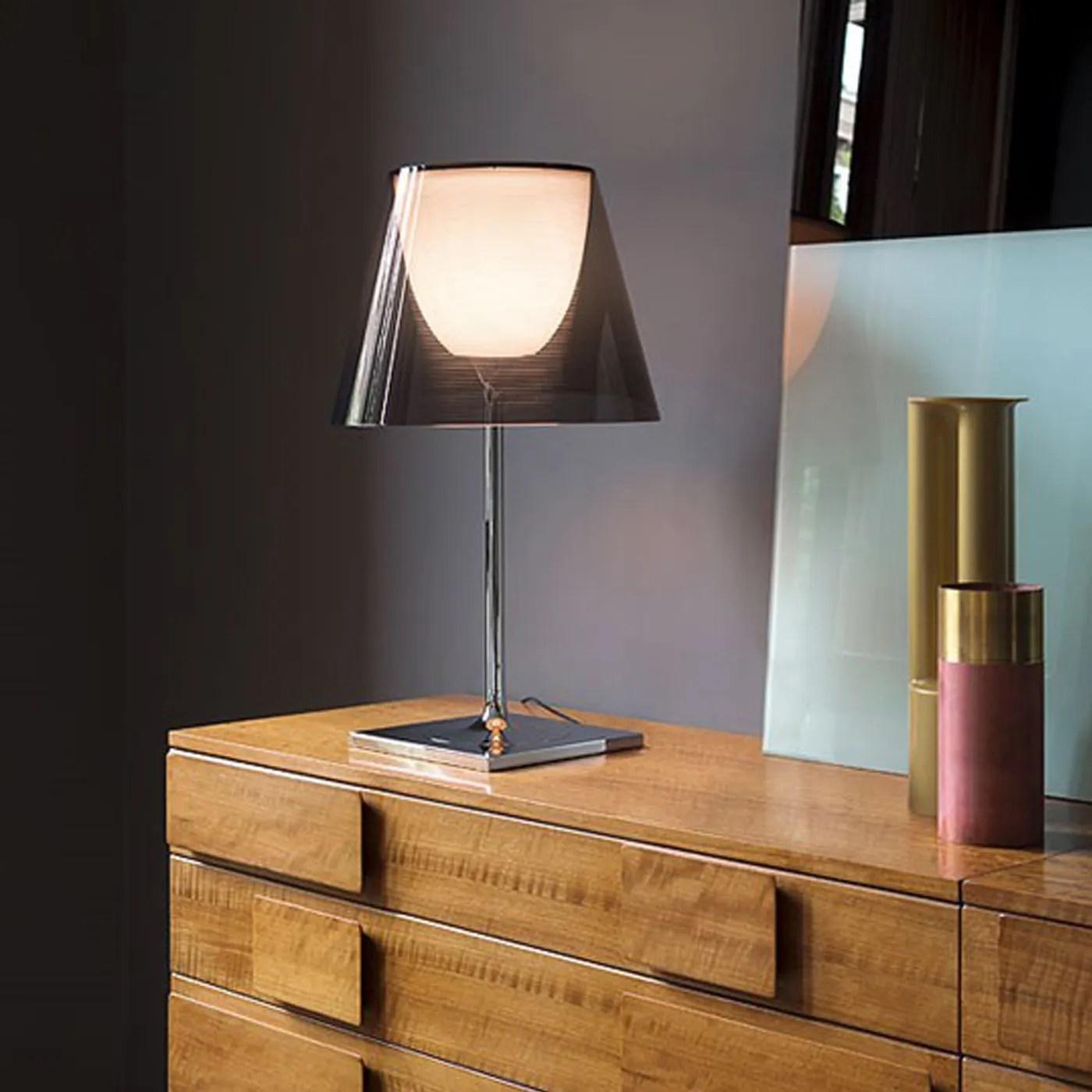 Flos KTribe T1 Table Lamp Smoke  HEALS