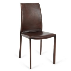 Buffalo Leather Chair Navy Blue Upholstered Heal 39s Side Heals