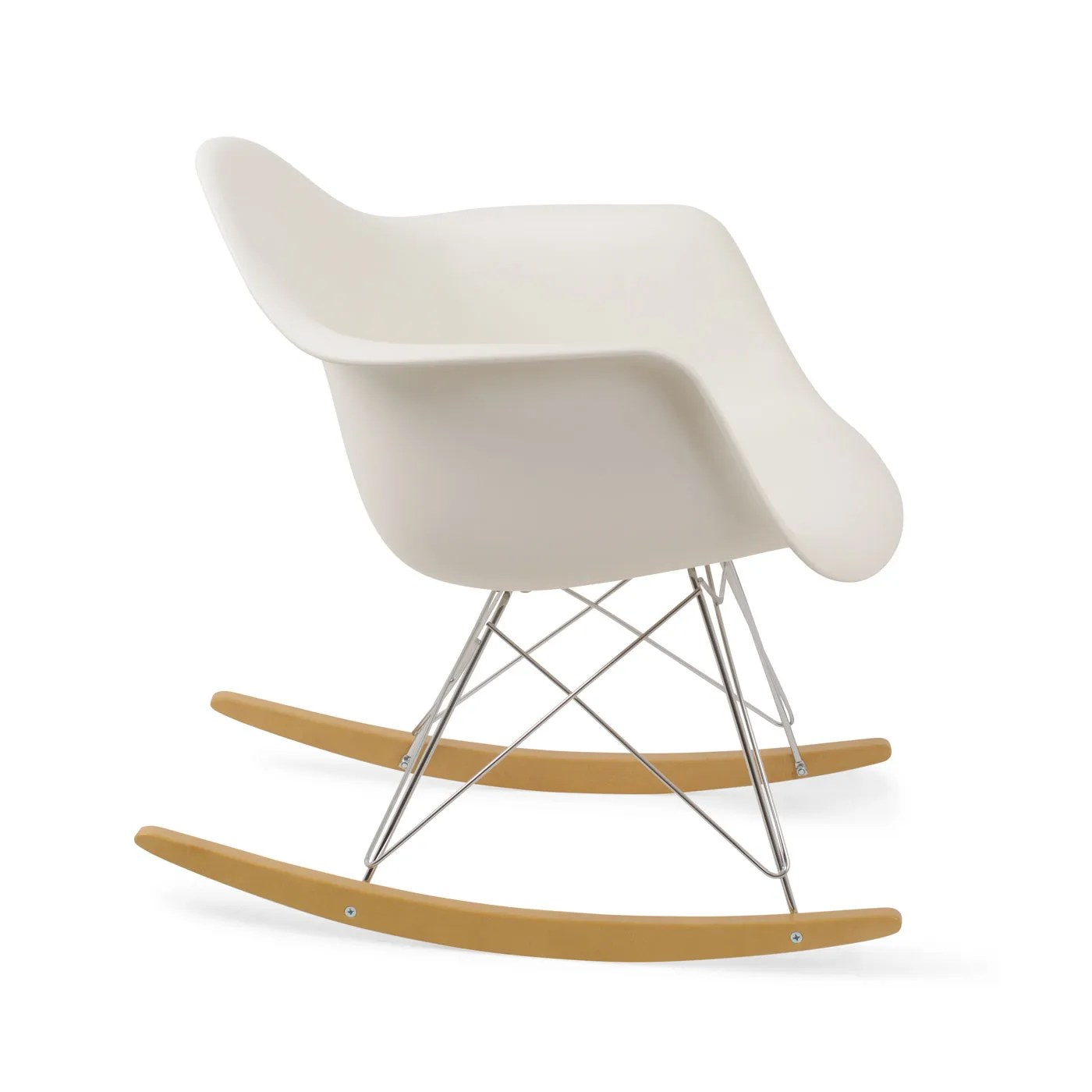 eames rocking chair office with built in footrest vitra rar heals