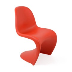 Panton S Chair Desk With Lumbar Support Vitra Heals